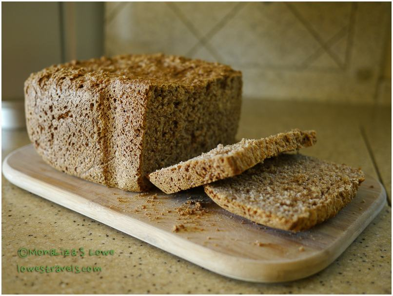Whole Wheat Honey Walnut Bread