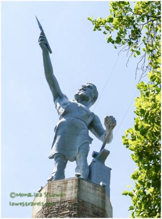 Vulcan, largest cast iron statue in the world