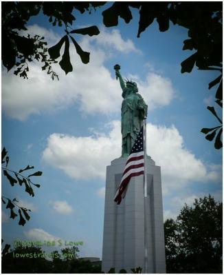Lady Liberty in Birmingham, Alabama