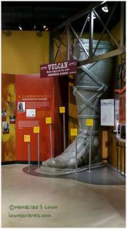 Vulcan's foot