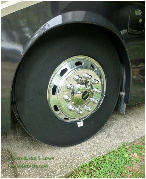 Magneshade Tire cover