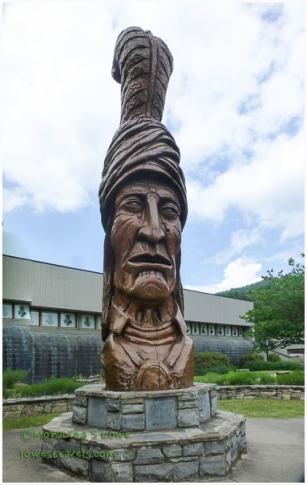 SEQUOYAH Statue
