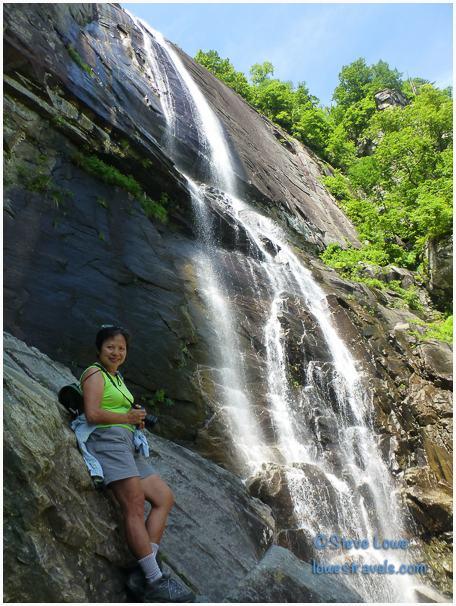 Hickory Nut Waterfalls