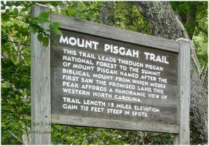 Mount Pisgah Sign