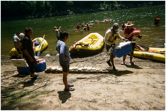 Upper River rafting