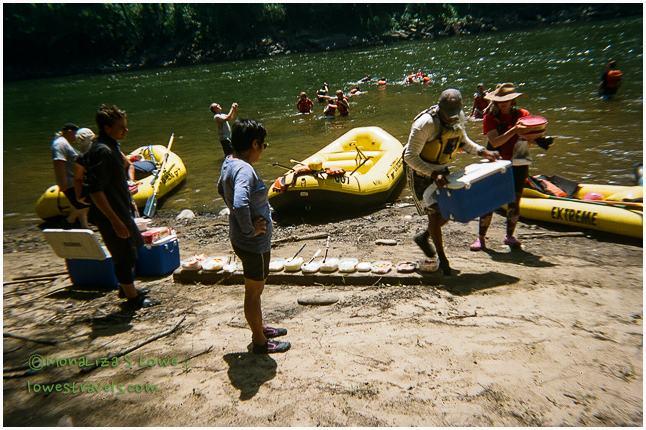 Upper River rafting