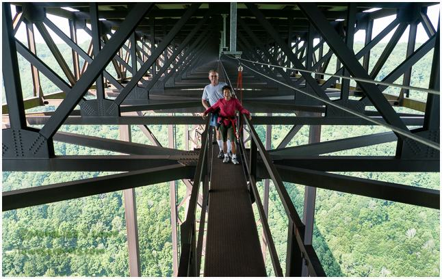 Bridgewalk, New River Gorge Bridge Walk