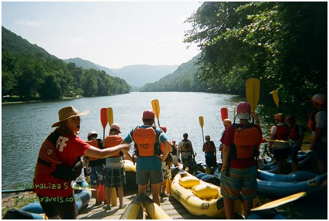 Upper New River Rafting