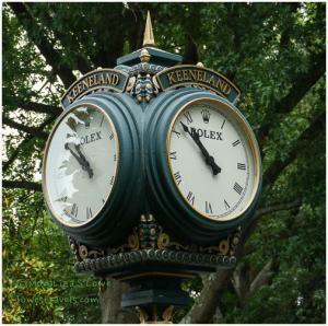 Keeneland Clock