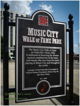 Music City Walk of Fame PArk