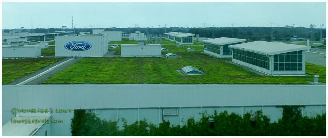 Living Roof, Dearborn Manufacturing Plant