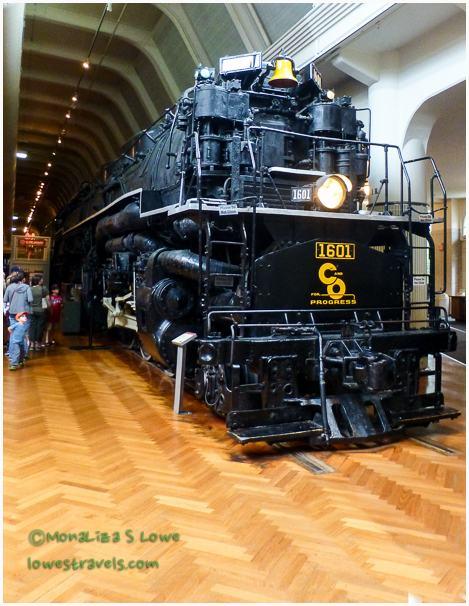 The Allegheny 1941 locomotive