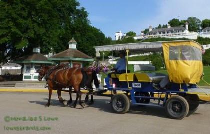 Mackinac Island Taxi
