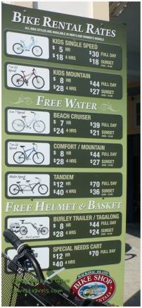 Bike Rentals at Mackinac Island