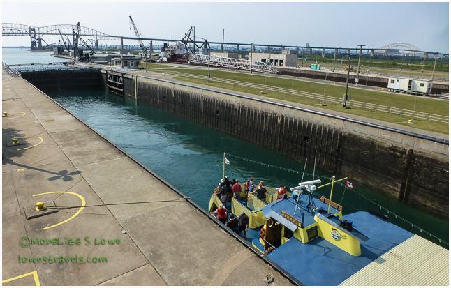MacArthur Lock -Soo Locks