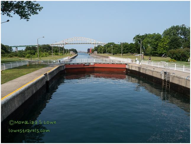 Sault Ste Marie Canal, Canada