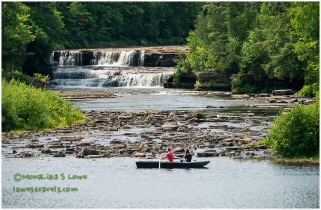 Lower Falls, Tahquamenon River