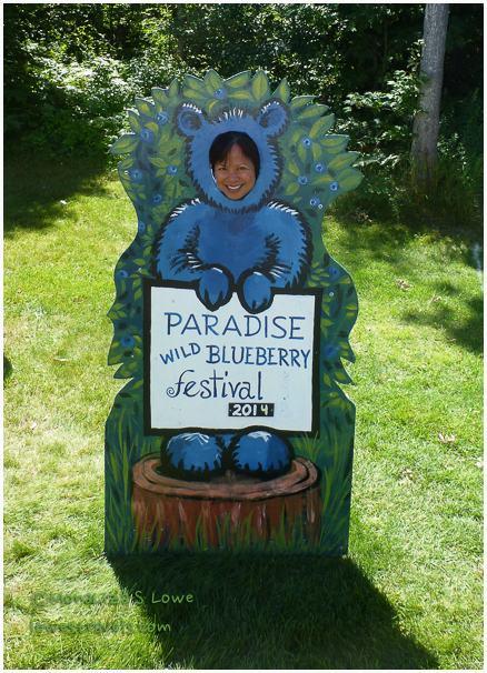 Wild blueberry festival, Paradise