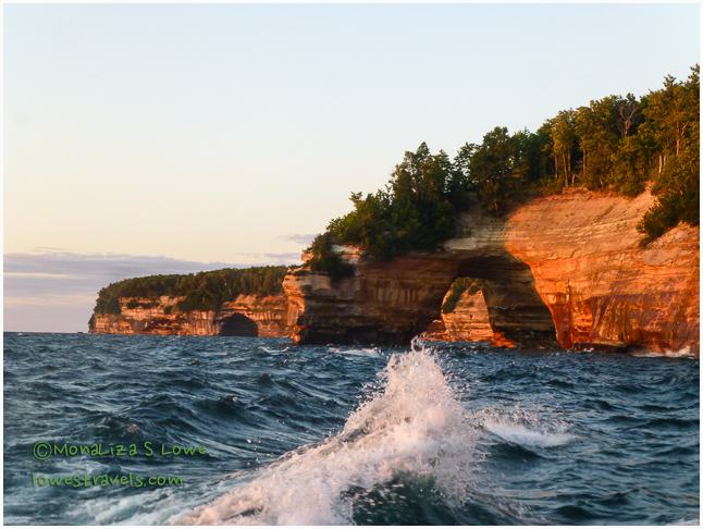 Lovers Leap, Pictured Rocks