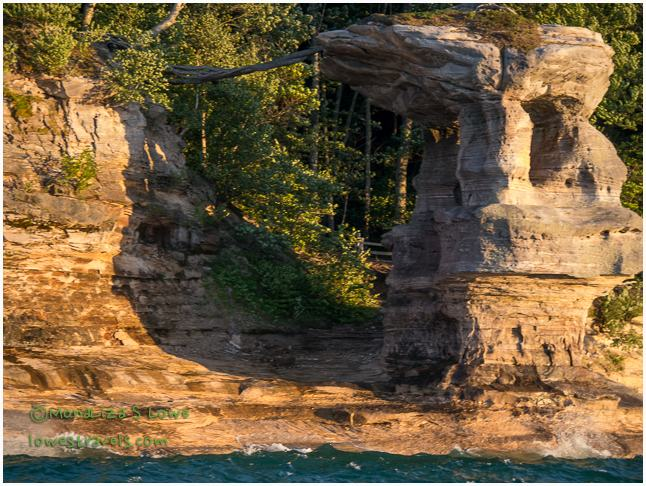 Chapel Rock, Pictured Rocks