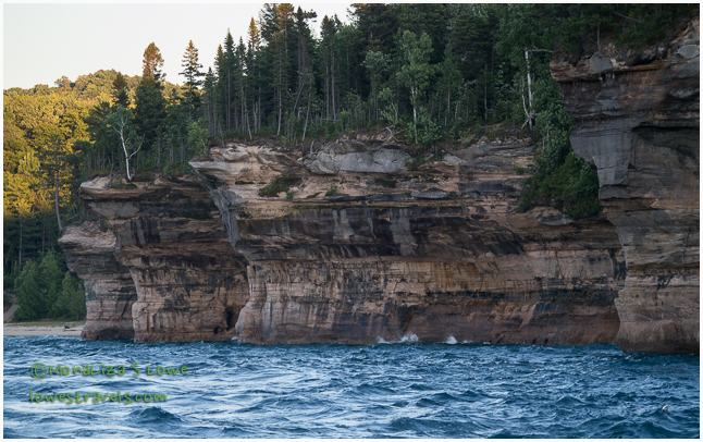 Battleship Rock, Pictured Rocks