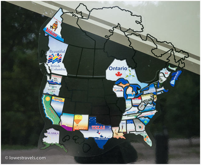Visited States