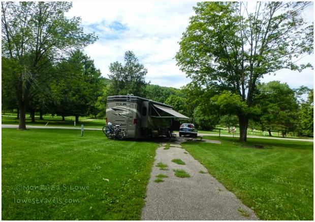 What a cool place baraboo wisconsin the lowe 39 s rv for Devils lake state park cabins