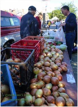 How can you not buy farm-fresh veggies?