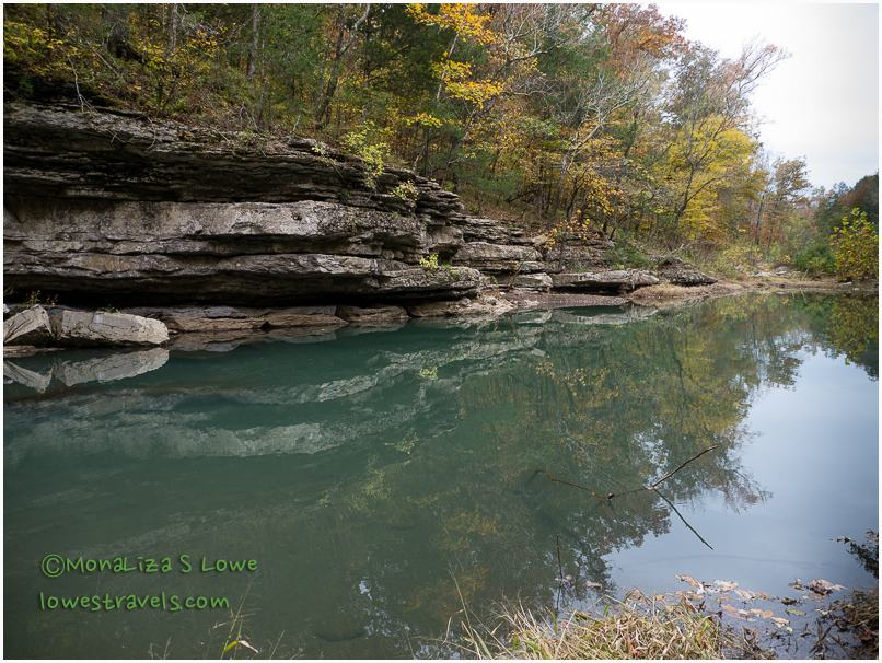 Lee Creek, Devils Den State Park