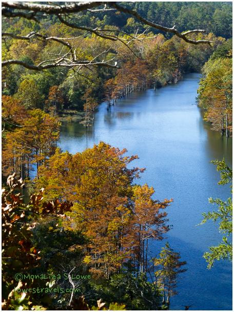 Beavers Bend, Lower Form Mountain River