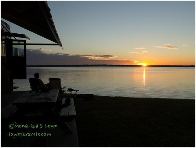 Lake Livingston Sunset