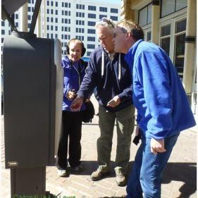 Figuring out a high-tech parking machine