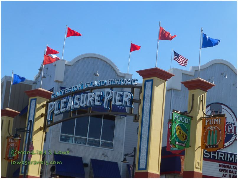 Pleasure Pier at Galveston