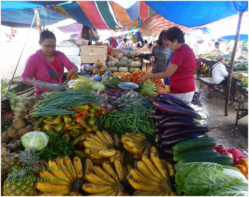 Farmers Market in Moalboal