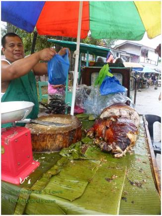 Lechon on the street
