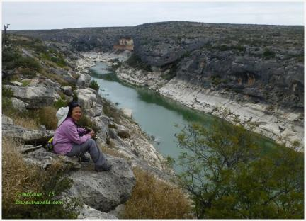Presa Canyon Overlook Trail