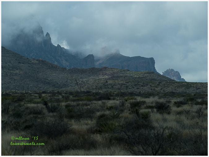 Chisos Mountain, Big Bend National Park