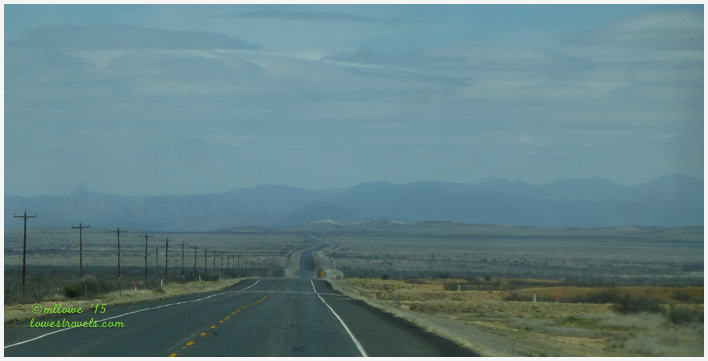US 90S towards Marathon