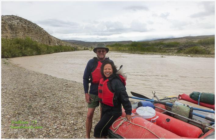 Floating the river, Rio Grande