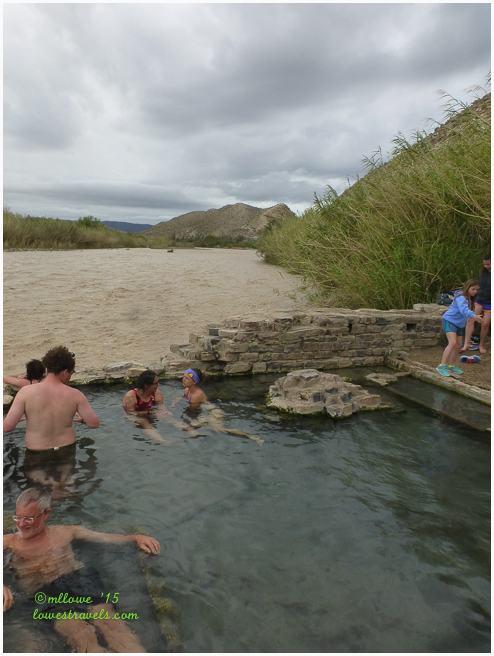 Hot Springs at Big Bend NP