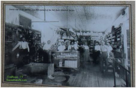 Interior of the store, Circa 1912
