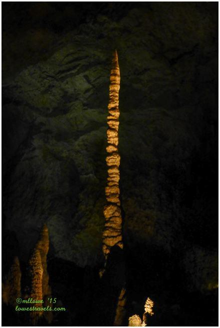 Totem Pole Stalagmite