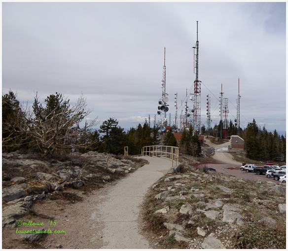 Steel Forest of Sandia Crest Electronic Site