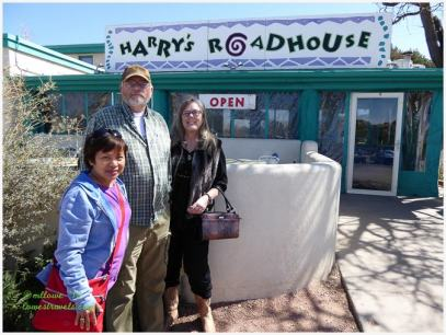 Breakfast at Harry's Roadhouse was pretty much our meal for the day!