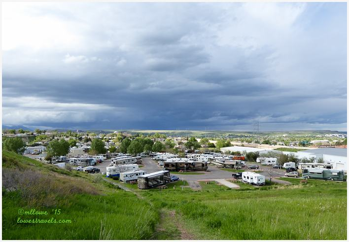 Overview of Dakota Ridge RV Park