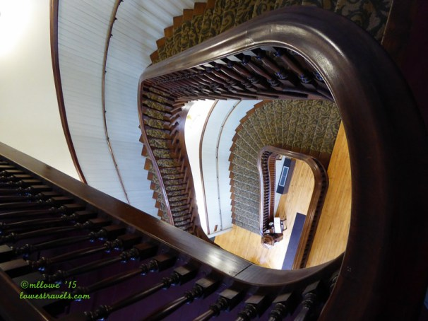 Chase County Courthouse Staircase