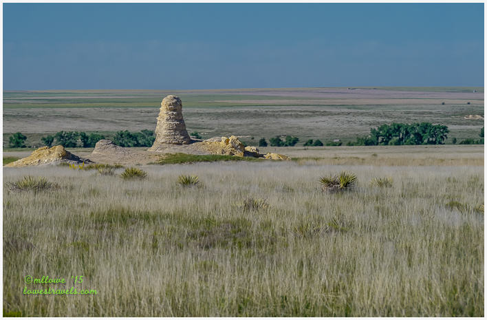Outcroppings on Western Kansas