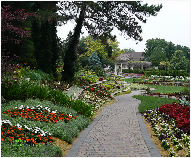 The sunken garden, lincoln,  nebraska
