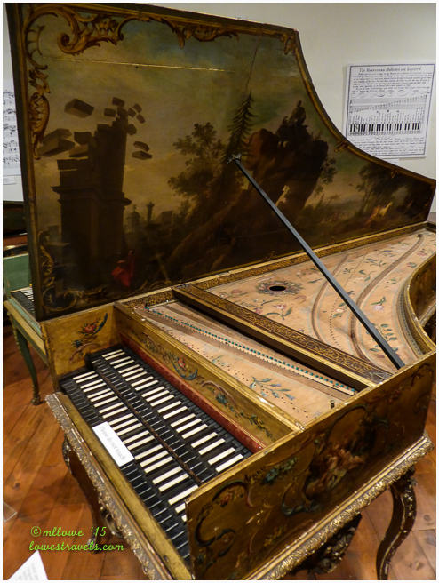 Harpsichord by Andreas Ruckers, Antwerp, 1643
