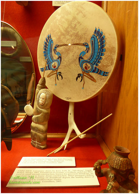 Ceremony Drum from Alaska